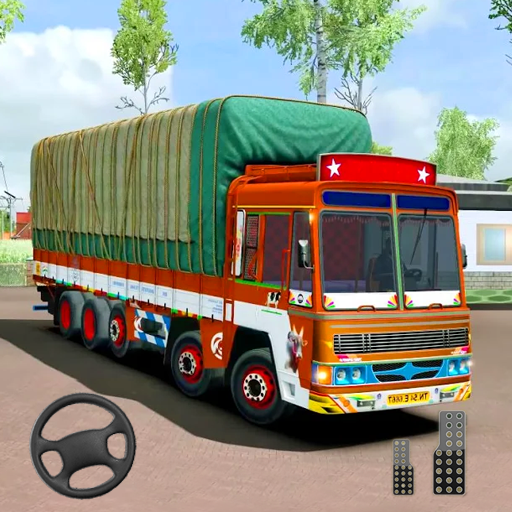 Indian Truck Modern Driver: Cargo Driving Games 3D 2.0 (MOD, Unlimited Money)
