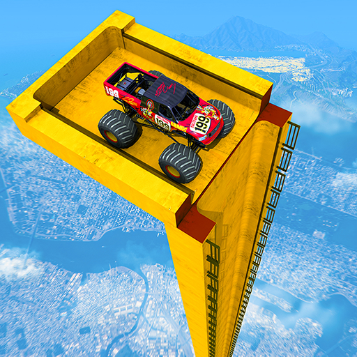 Mega Ramp Monster Truck Driving Stunts Racing Game 2.0.11 (MOD, Unlimited Money)