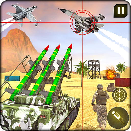 Military Missile Launcher:Sky Jet Warfare 1.0.8 (MOD, Unlimited Money)