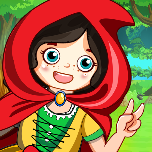 Mini Town: Red Riding Hood Fairy Tale Kids Games 2.3 (MOD, Unlimited Money)