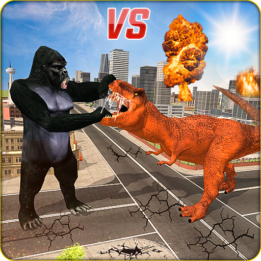 Monster Dino Vs King Kong-City Rampage Simulator 1.0.3 (MOD, Unlimited Money)