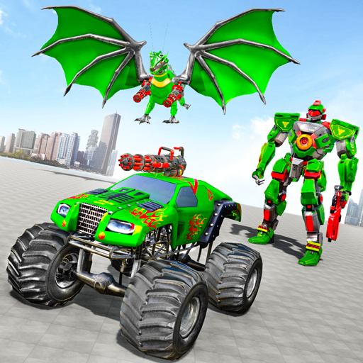 Monster Truck Robot Wars – New Dragon Robot Game 1.0.9 (MOD, Unlimited Money)
