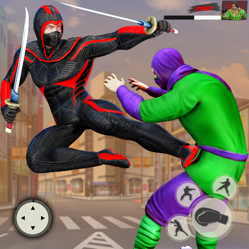Ninja Superhero Fighting Games: City Kung Fu Fight 7.1.2 (MOD, Unlimited Money)