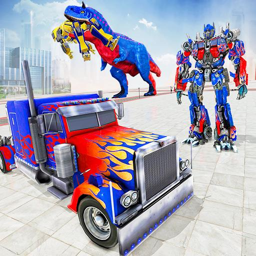 Police Truck Robot Game – Transforming Robot Games 1.1.3(MOD, Unlimited Money)