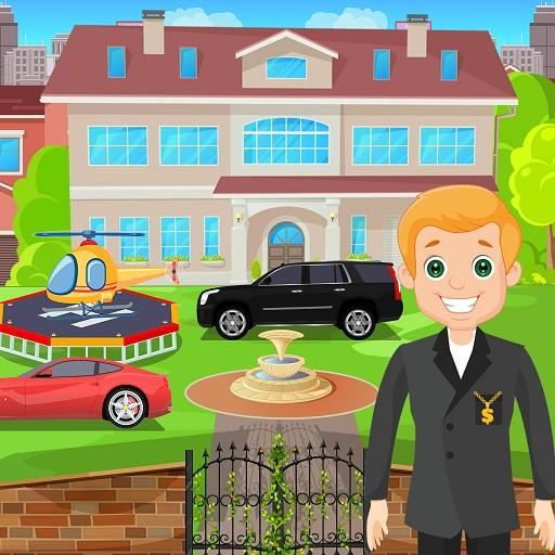 Pretend Play My Millionaire Family Villa Fun Game 1.0.3 (MOD, Unlimited Money)