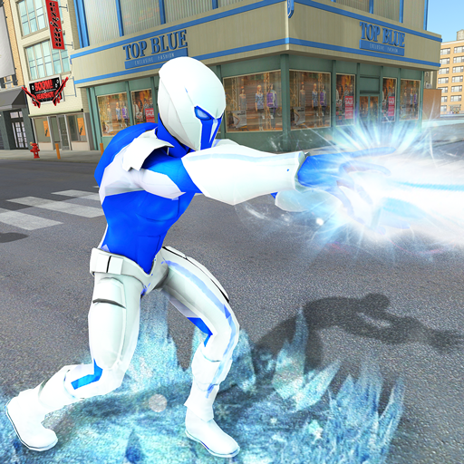 Snow Storm Super Human: Flying Ice Superhero War 1.0.5 (MOD, Unlimited Money)