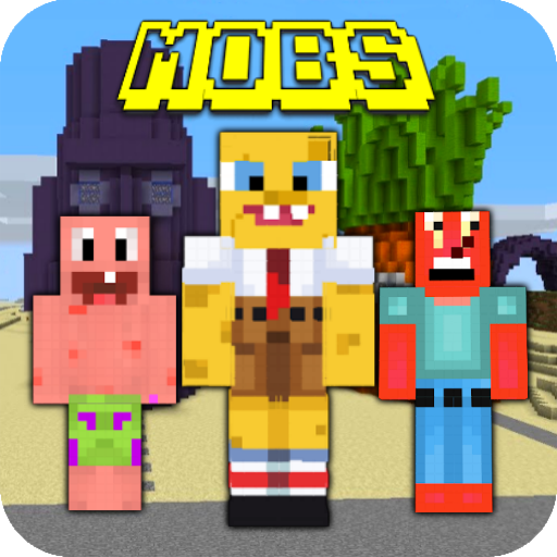 Sponge Mobs Addon 7 (MOD, Unlimited Money)