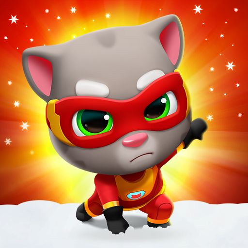 Talking Tom Hero Dash – Run Game  (MOD, Unlimited Money) 2.4.0.1392