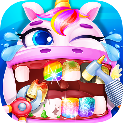 Unicorn Dentist – Rainbow Pony Beauty Salon 1.4 (MOD, Unlimited Money)