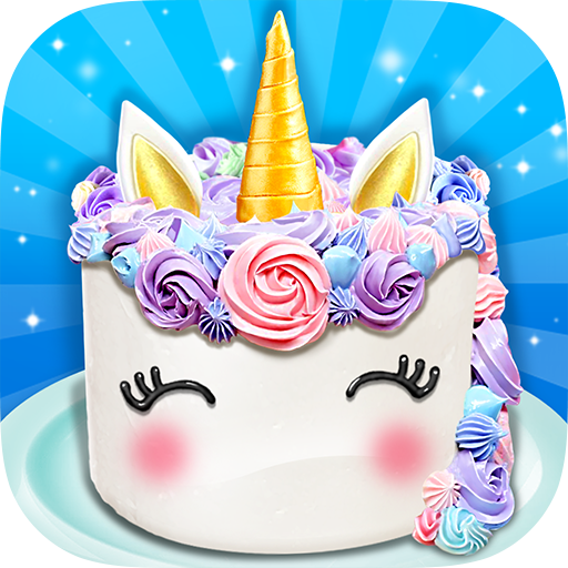 Unicorn Food – Sweet Rainbow Cake Desserts Bakery 3.1 (MOD, Unlimited Money)