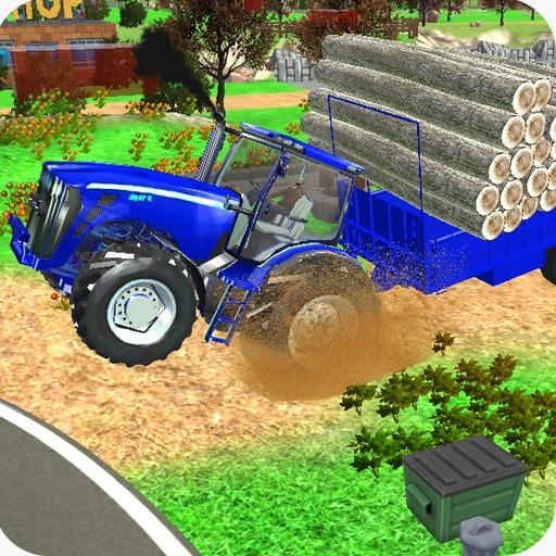 Village Tractor Games:Chained Tractor Offroad Game 1.00.0000 (MOD, Unlimited Money)