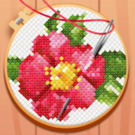 CROSS-STITCH: COLORING BOOK 0.200.539 (MOD, Unlimited Money)