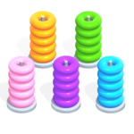 Color Hoop Stack – Sort Puzzle 1.1.4 (MOD, Unlimited Money)