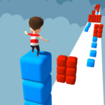 Cube Stacker Surfer 3D – Run Free Cube Jumper Game  (MOD, Unlimited Money) 1.42