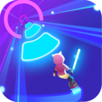 Cyber Surfer: Free Music Game – the Rhythm Knight  (MOD, Unlimited Money) 2.0.10