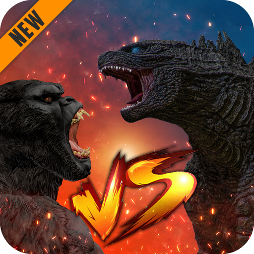 Godzilla & Kong 2021: Angry Monster Fighting Games 3 (MOD, Unlimited Money)