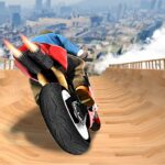 Impossible Mega Ramp Moto Bike Rider Stunts Racing  (MOD, Unlimited Money) 1.40