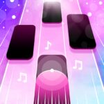 Magic Pink Tiles: Piano Game  (MOD, Unlimited Money) 1.0.10