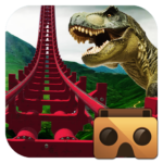 Real Dinosaur RollerCoaster VR  (MOD, Unlimited Money) 3.0
