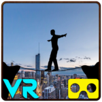 VR City View Rope Crossing – VR Box App  (MOD, Unlimited Money)