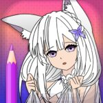 Animated Glitter Coloring Book – Anime Manga 10.4 (MOD, Unlimited Money)