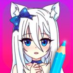 Anime Manga Coloring Pages with Animated Effects 4.5  (MOD, Unlimited Money)