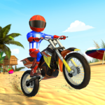 Bike Beach Game: 3D Stunt & Racing Motorcycle Game 7.7 (MOD, Unlimited Money)