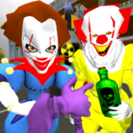 Clown Brothers. Neighbor Escape 3D 1.5 (MOD, Unlimited Money)