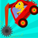 Dinosaur Digger – Truck simulator games for kids 1.1.8  (MOD, Unlimited Money)