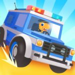 Dinosaur Police Car – Police Chase Games for Kids 1.1.4 (MOD, Unlimited Money)