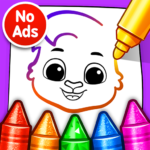 Drawing Games: Draw & Color For Kids v1.0.7  (MOD, Unlimited Money)