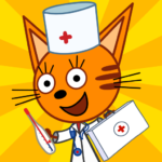 Kid-E-Cats Animal Doctor Games for Kids・Pet Doctor 1.8.8 (MOD, Unlimited Money)
