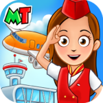My Town : Airport. Free Airplane Games for kids 1.03 (MOD, Unlimited Money)