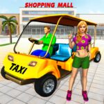Shopping Mall Radio Taxi: Car Driving Taxi Games 3.5 (MOD, Unlimited Money)