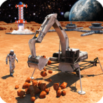 Space Station Construction City Planet Mars Colony 2.8 (MOD, Unlimited Money)