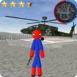 Stickman Spider Rope Hero Gangstar City 6.0 (MOD, Unlimited Money)