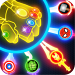 Super Hero Knife Battle_Free App 1.6 (MOD, Unlimited Money)