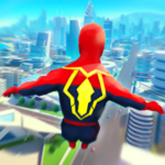 Super Heroes Fly: Sky Dance – Running Game 1.0  (MOD, Unlimited Money)