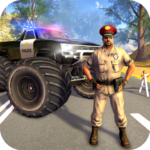 US Police Monster Truck Gangster Car Chase Games 1.1.12 (MOD, Unlimited Money)