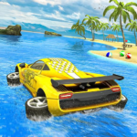 Water Surfer car Floating Beach Drive 1.19 (MOD, Unlimited Money)
