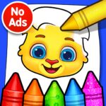 Coloring Games: Coloring Book, Painting, Glow Draw 1.1.3 (MOD, Unlimited Money)