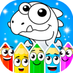 Coloring dinosaurs 1.4.5 (MOD, Unlimited Money)