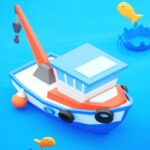 Fish idle: hooked tycoon. Fishing boat, hooking 4.0.10 (MOD, Unlimited Money)