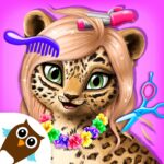 Jungle Animal Hair Salon – Styling Game for Kids 4.0.10083 (MOD, Unlimited Money)