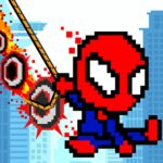 Rope Pixel Master – Rescue Hero Academy 0.19 (MOD, Unlimited Money)