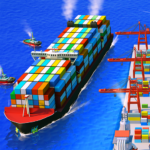 Sea Port: Ship Games & Transport Tycoon Strategy 1.0.181  (MOD, Unlimited Money)