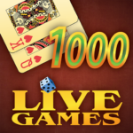 Thousand LiveGames – free online card game 1000 4.02 (MOD, Unlimited Money)