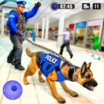 US Police Dog Shopping Mall Crime Chase 2021 3.5  (MOD, Unlimited Money)