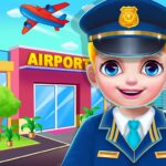 Airport Manager : Adventure Airline Game 2.0 (MOD, Unlimited Money)