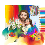 Bible Coloring – Free Bible painting Games,Book 11.1 (MOD, Unlimited Money)